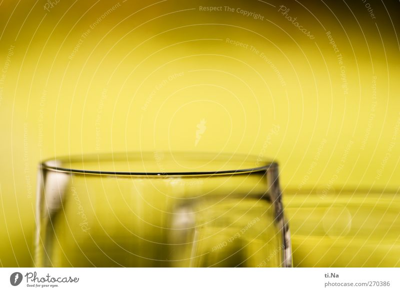 Palim Palim Beverage Sparkling wine Prosecco Champagne Champagne glass Bright Yellow Gray Green Black Vice Alcoholism Colour photo Subdued colour Exterior shot