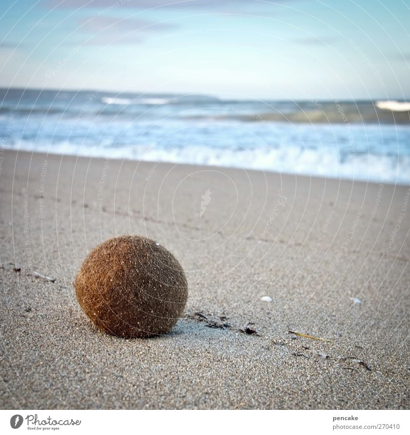 ball|ermann Playing Boules Vacation & Travel Tourism Ocean Island Ball Landscape Sand Water Sky Waves Coast Beach Sphere Esthetic Calm Majorca Ballermann