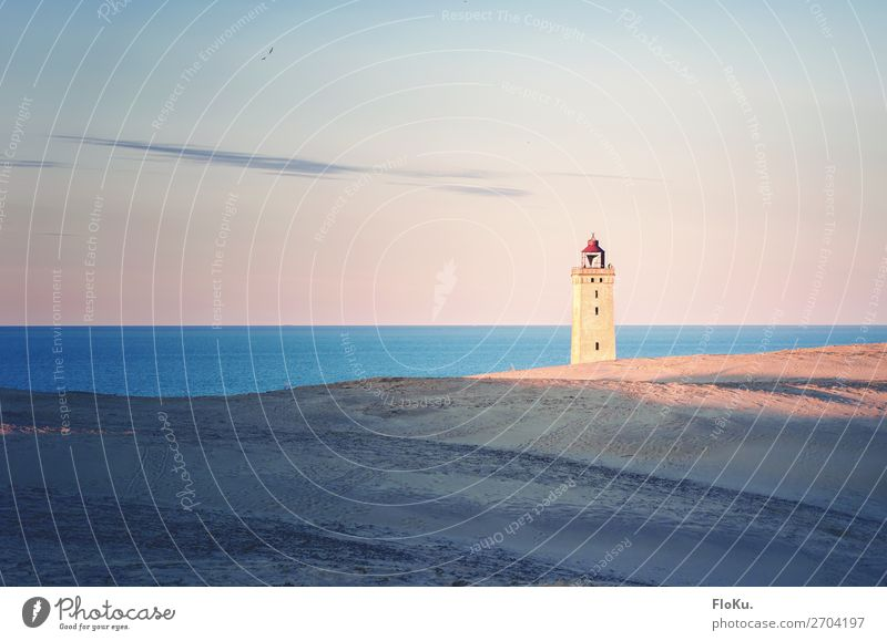 Rubjerg Knude - lighthouse in the dunes Vacation & Travel Tourism Trip Adventure Far-off places Sightseeing Beach Ocean Environment Nature Landscape Elements