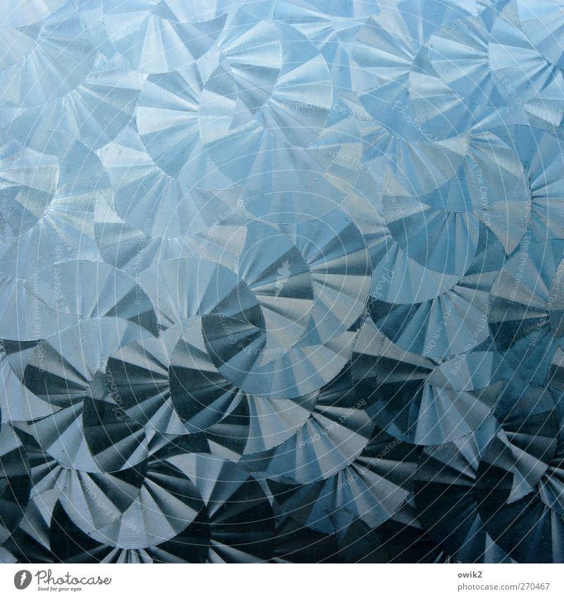Blue Black Movement Gray Style Art Glittering Elegant Design Crazy Happiness Circle Many Round Protection Plastic