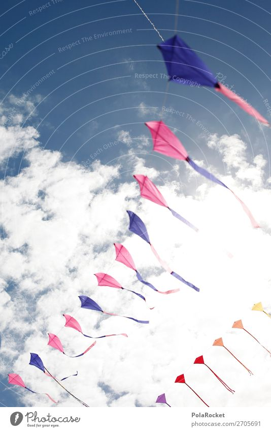 #AS# Air Games Art Esthetic Sky Dragon Playing Infancy Childhood memory Flying Multicoloured Wind chime Kite Feasts & Celebrations Music festival Colour photo