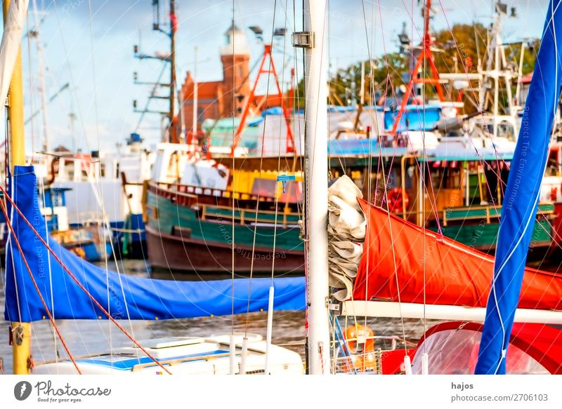 Port of Stolpmünde, Poland Vacation & Travel Fishing village Yacht harbour Happiness Fresh Harbour Fishing port Ustka Lighthouse Old romantic Picturesque
