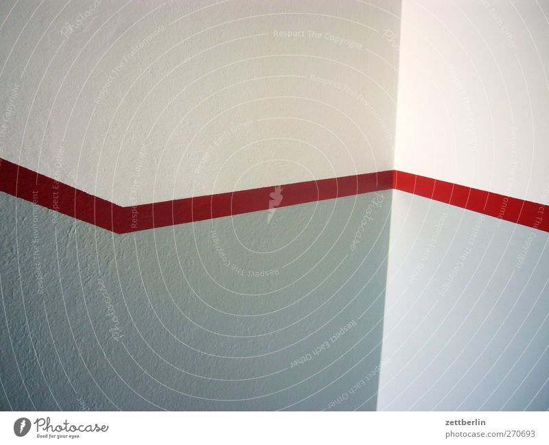 Red Line House (Residential Structure) Manmade structures Building Architecture Wall (barrier) Wall (building) Good Responsibility Attentive Watchfulness