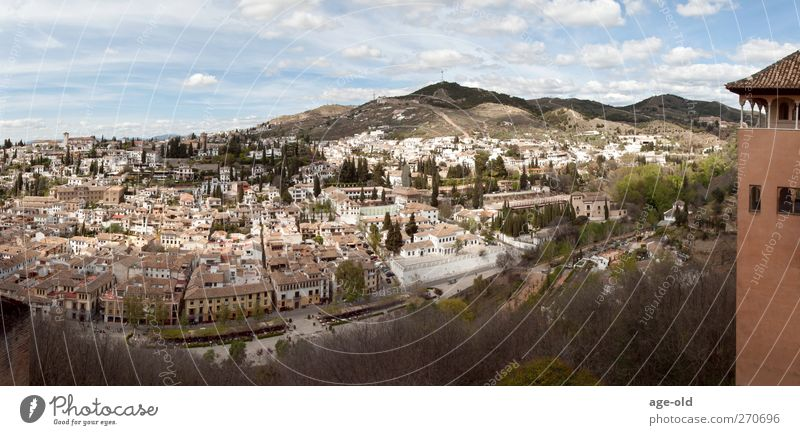 el albaicin Vacation & Travel City trip Landscape Granada Spain Town Old town Observe To enjoy Looking Famousness Historic Moody Authentic Exotic