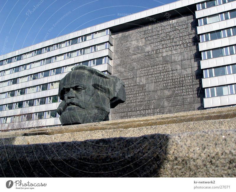 Mr-Marx Chemnitz Zone Saxony Nostalgia Historic marx GDR Karl Marx City