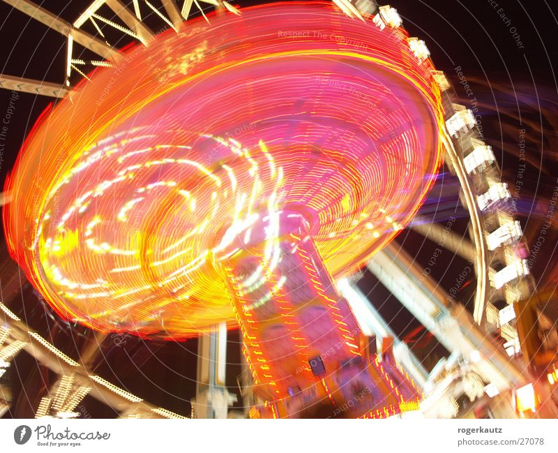 washen Cannstatter Wasen Ferris wheel Fairs & Carnivals Long exposure