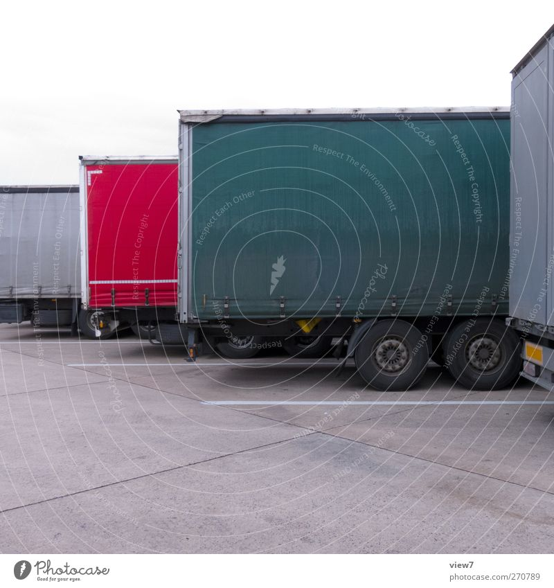 Old Street Berlin Transport Authentic Future Planning Break Logistics Simple Mysterious Truck Traffic infrastructure Parking lot Workplace Means of transport