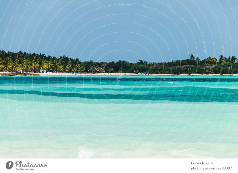 Saona Island near Punta Cana, Dominican Republic Vacation & Travel Tourism Summer Beach Ocean Environment Nature Sand Coast Wanderlust America American Bay