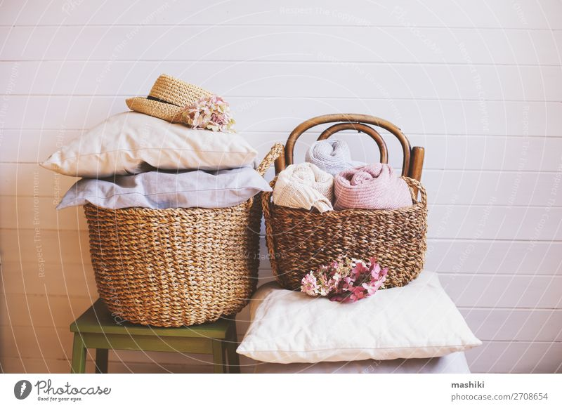 cozy still life interior details. Organizing clothes Coffee Lifestyle Design House (Residential Structure) Decoration Autumn Warmth Flower Collection Esthetic
