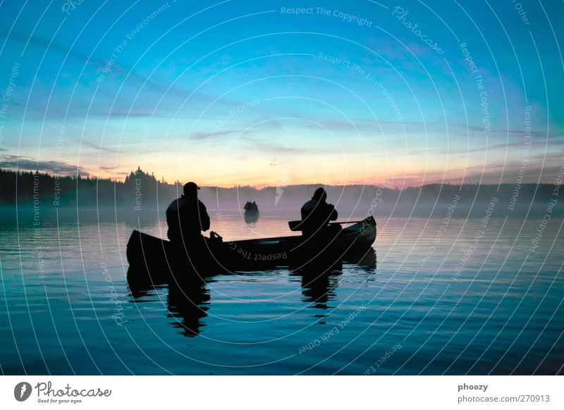 Canoeing on the Mången, Sweden Relaxation Calm Adventure Expedition Water Sunrise Sunset Lake Discover Vacation & Travel Exceptional Far-off places Beautiful