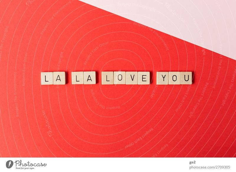 La La Love You Happy Playing Flirt Valentine's Day Wedding Birthday Characters Red Emotions Joy Joie de vivre (Vitality) Spring fever Sympathy Together