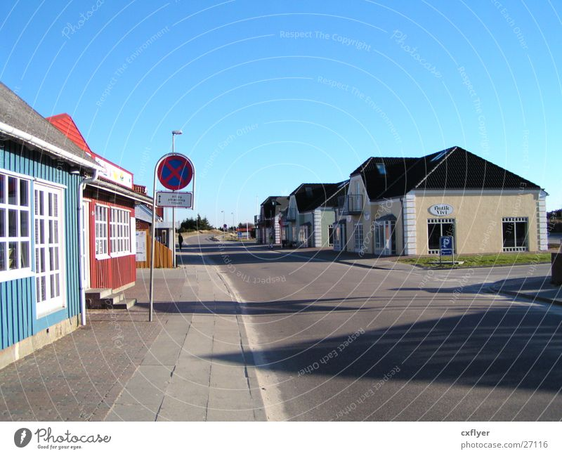 City House (Residential Structure) Street Architecture