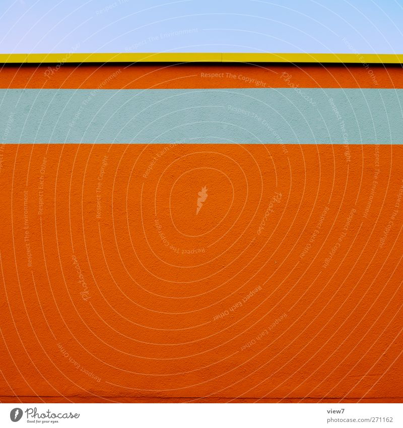 orange in House (Residential Structure) Manmade structures Building Architecture Wall (barrier) Wall (building) Facade Stone Concrete Line Stripe Esthetic