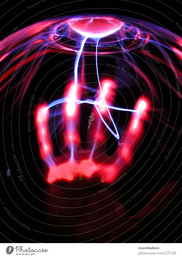 Wild part Hand Science & Research Radiation Photographic technology Plasma Human being Technology electricity