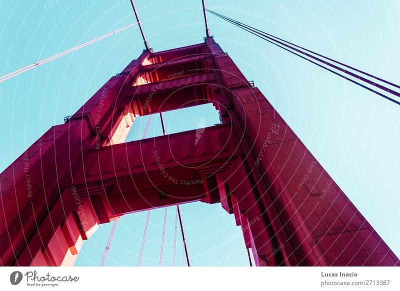 Golden Gate Bridge in San Francisco, California Vacation & Travel Tourism Summer Beach Ocean Environment Nature Sand Coast Building Architecture Monument