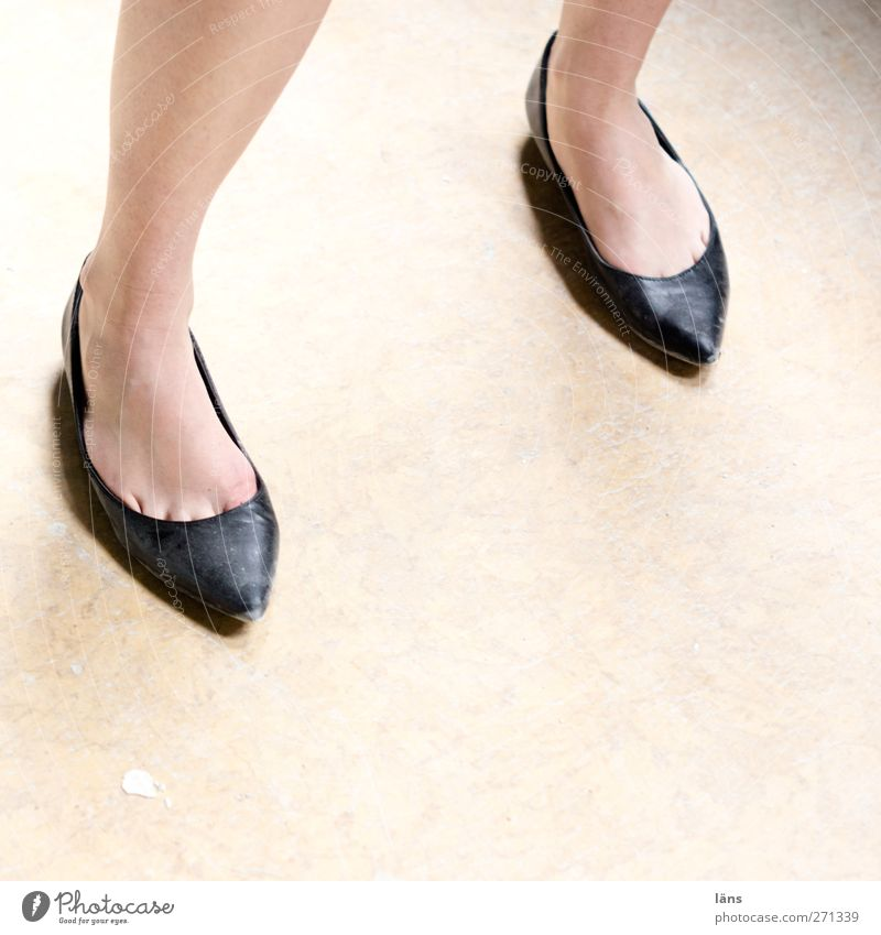 Human being Woman Legs Feet Footwear Stand