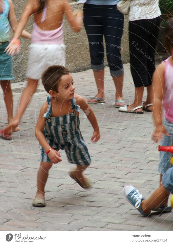 Human being Boy (child) Playing Group Dynamics Spain