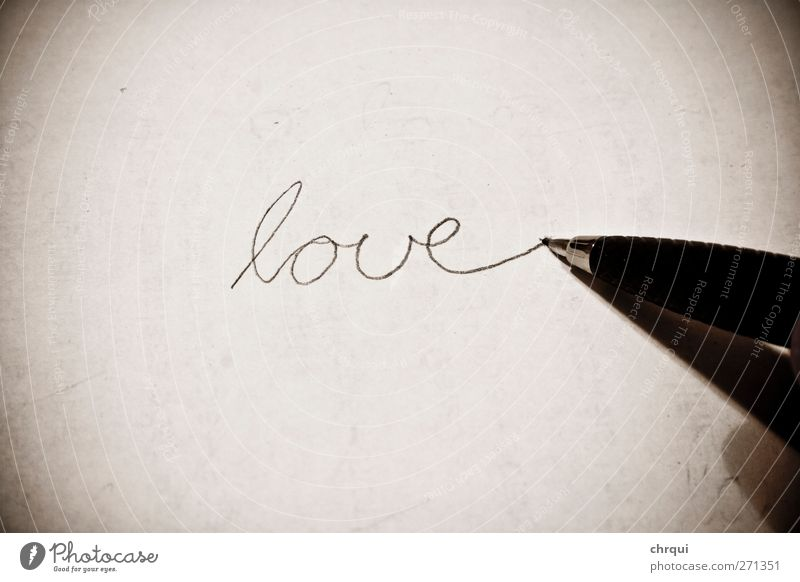 Beautiful Eroticism Love Emotions Characters Fingers Paper Romance Sign Infatuation Pen Piece of paper Valentine's Day Stationery Desire