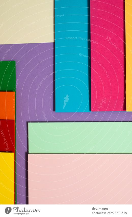 Colorful folded paper material design. Design Wallpaper Craft (trade) Art Paper Stripe Blue Yellow Green Pink Colour colorful spectrum Rainbow graphic geometric