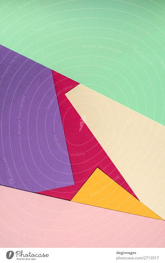 Colorful polygon paper design. Pastel tones Design Wallpaper Art Paper Stripe Retro Blue Yellow Green Pink Colour background geometric graphic ine backdrop