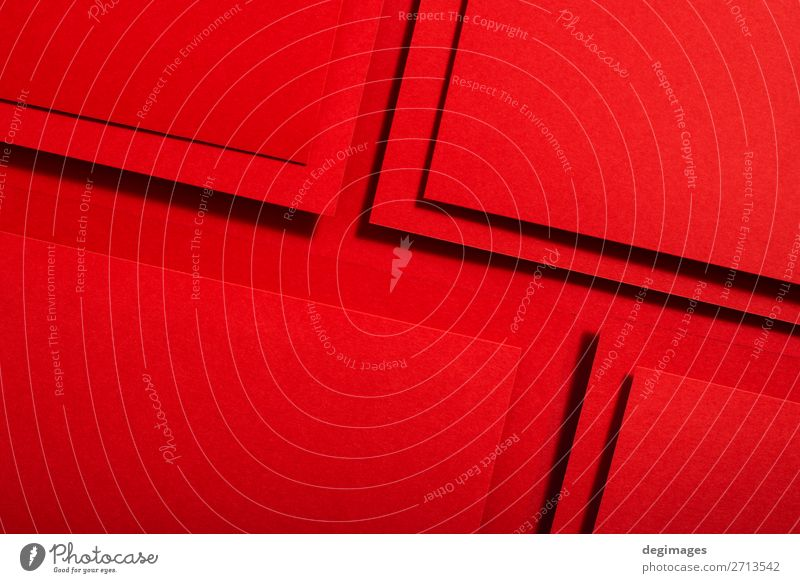 Red paper material design. Geometric unicolour shapes Colour Art Design Line Retro Paper Stripe Wallpaper Still Life Craft (trade) Material Curve Surface
