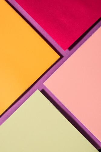 Vibrant colors palette paper design. Geometric shapes. Design Wallpaper Craft (trade) Paper Line Stripe Dark Brown Colour geometric background graphic backdrop