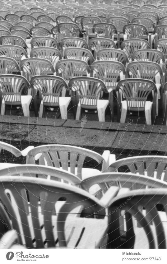 row of seats Row of seats Deserted Empty Seating Sit Loneliness