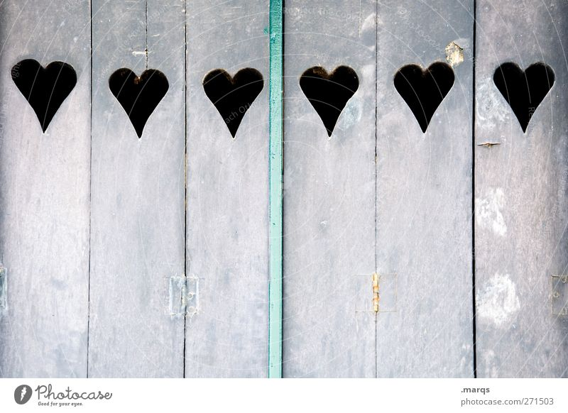 six Lifestyle Living or residing Shutter Wood Sign Heart Beautiful Violet Love Infatuation Relationship Colour 6 Valentine's Day Colour photo Subdued colour