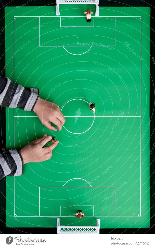 Playing Soccer Foot ball Ball Goal Stadium Football pitch World Cup Bump Table soccer UEFA European Championship Penalty area