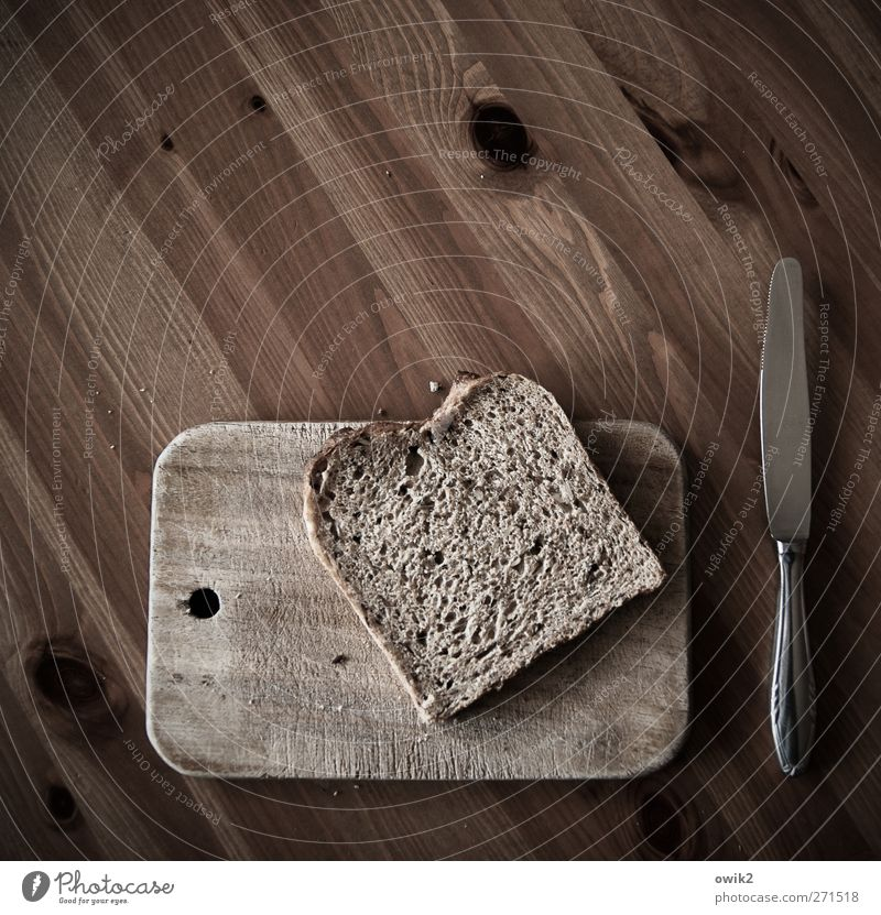 White Black Wood Gray Metal Brown Lie Food Nutrition Simple Appetite Breakfast Bread Wooden board Sharp-edged Knives