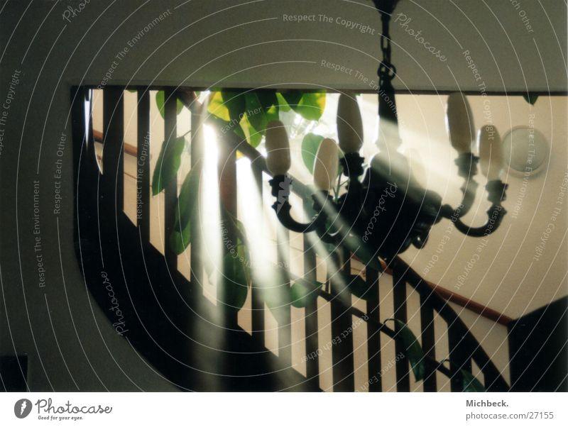 Architecture Fog Stairs Handrail Chandelier