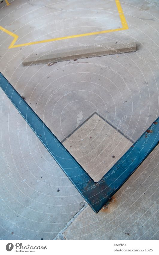City Metal Concrete Gloomy Handrail St. Louis
