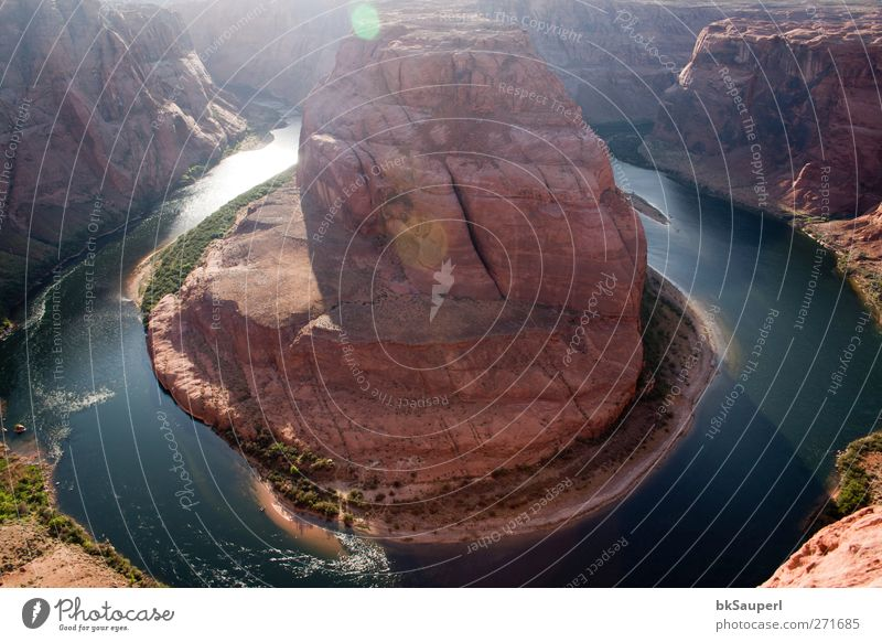 Horseshoe Bend, Arizona Nature Water Vacation & Travel Beautiful Colour Calm Relaxation Landscape Spring Rock Elegant Energy Tourism Adventure Might Uniqueness