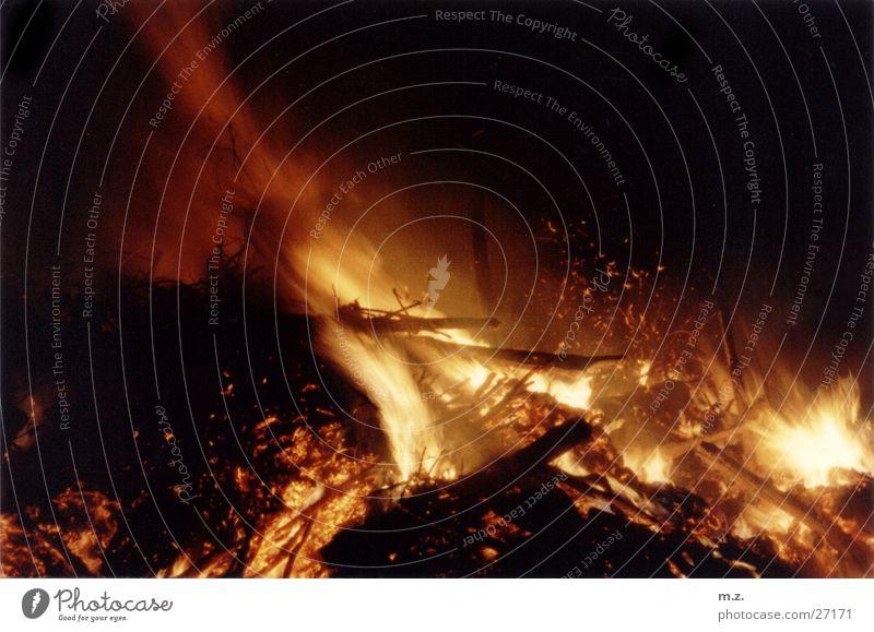 Dark Blaze Smoke Passion Flame Spark Embers