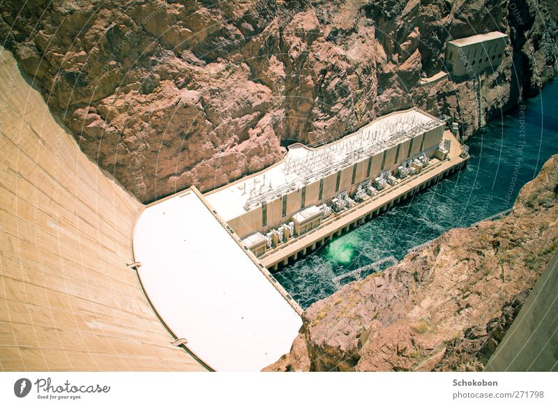 Hoover Dam.02 Vacation & Travel Tourism Trip Adventure Far-off places Sightseeing Sun Climbing Mountaineering Industry Energy industry