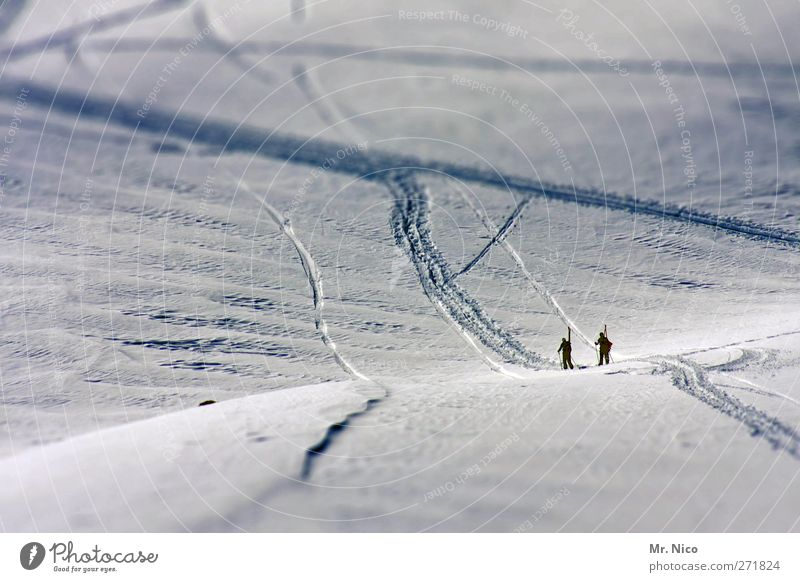 Human being Nature Vacation & Travel Winter Environment Landscape Cold Sports Mountain Snow Freedom Happy Ice Tourism Adventure Frost
