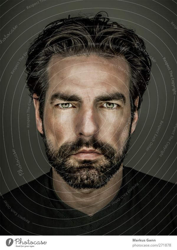 Portrait Masculinity Lifestyle Style Face Human being Masculine Man Adults Head 1 30 - 45 years Hair and hairstyles Black-haired Facial hair Beard Cool (slang)