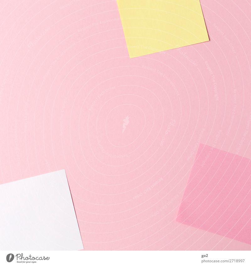 Colour School Office Design Arrangement Esthetic Creativity Study Paper Idea Academic studies Inspiration Workplace Stationery Office work