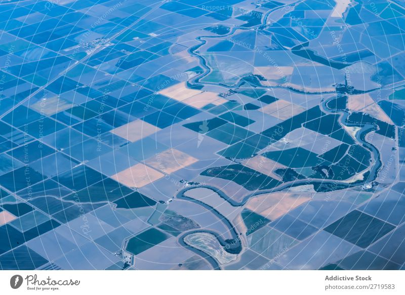 Plantations from air Pattern Aircraft agricultural Rural Background picture quadrocopter Large-scale holdings Nature Agriculture Field quadcopter Landscape