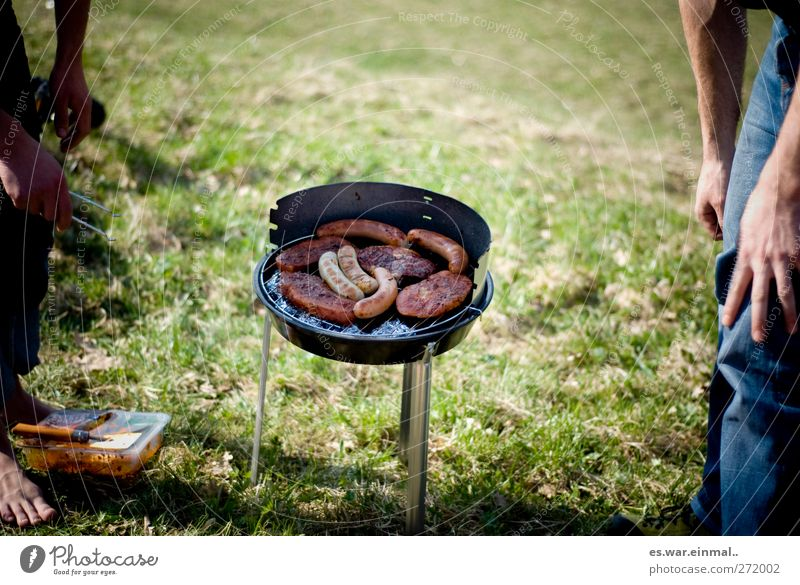 Summer Group Together Barbecue (event) Delicious Meat Barbecue (apparatus) Sausage Food Meat dishes Summerfest BBQ season