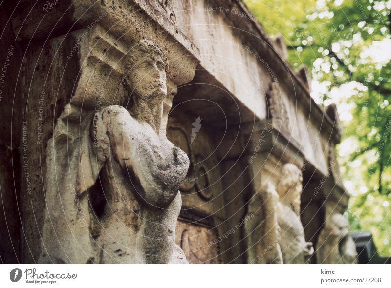 Death Stone Architecture Statue Cemetery Grave Tomb Offenbach