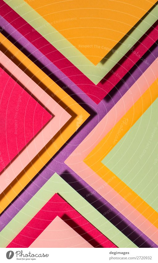 Vibrant colors palette paper design. Geometric shapes. Colour Dark Brown Design Line Paper Stripe Wallpaper Still Life Craft (trade) Material Curve Surface