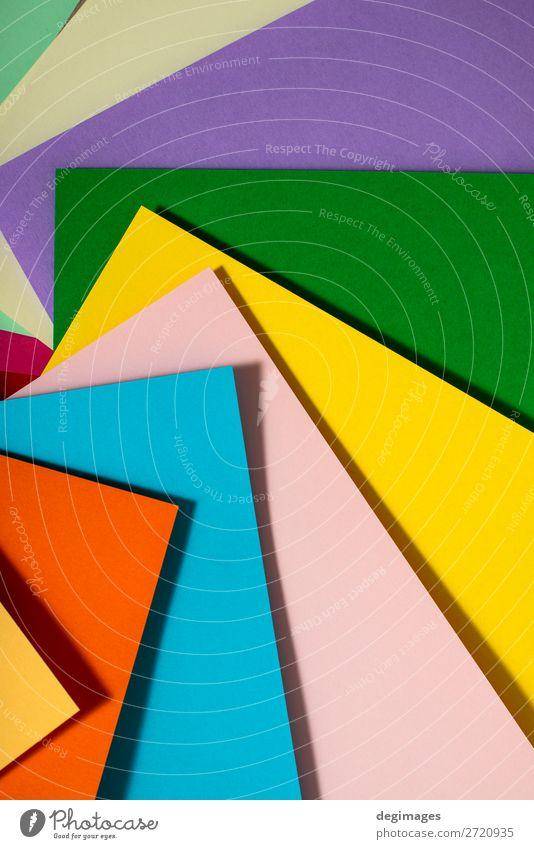 Vibrant colors palette paper design. Geometric shapes. Colour Dark Brown Design Line Paper Stripe Wallpaper Still Life Craft (trade) Material Curve Surface