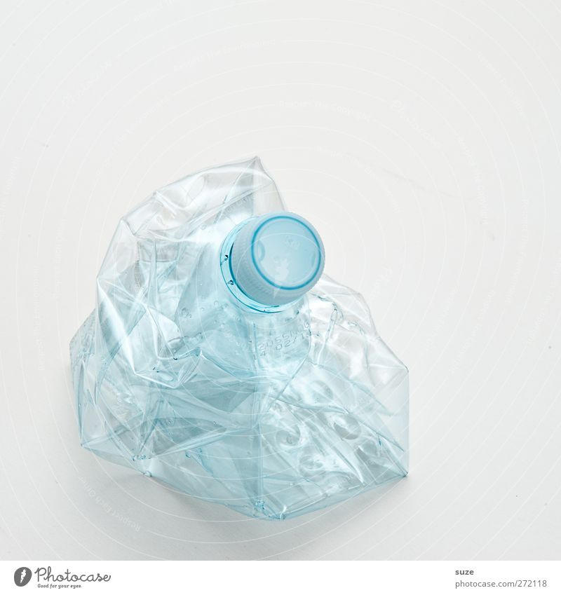Another bottle like that. Bottle Environment Packaging Plastic packaging Bright Broken Clean Thirst Environmental protection Recycling Deposit bottle Light blue