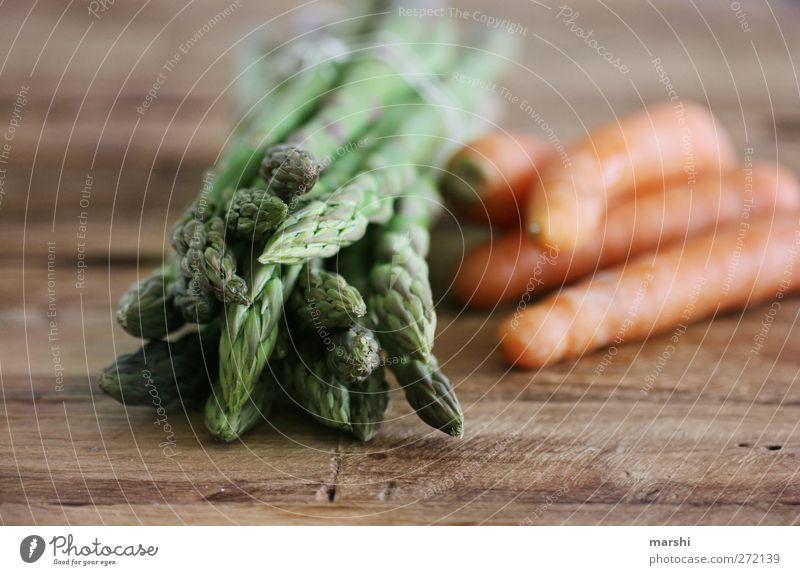 sparrots Food Vegetable Nutrition Organic produce Vegetarian diet Finger food Brown Green Orange Asparagus Asparagus season Asparagus head Carrot Healthy