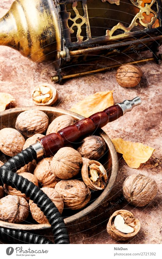 Shisha with with walnut flavor hookah shisha smoking tobacco nargile smoke nicotine east relaxation fruit arabic mouthpiece pipe fragrant pastime