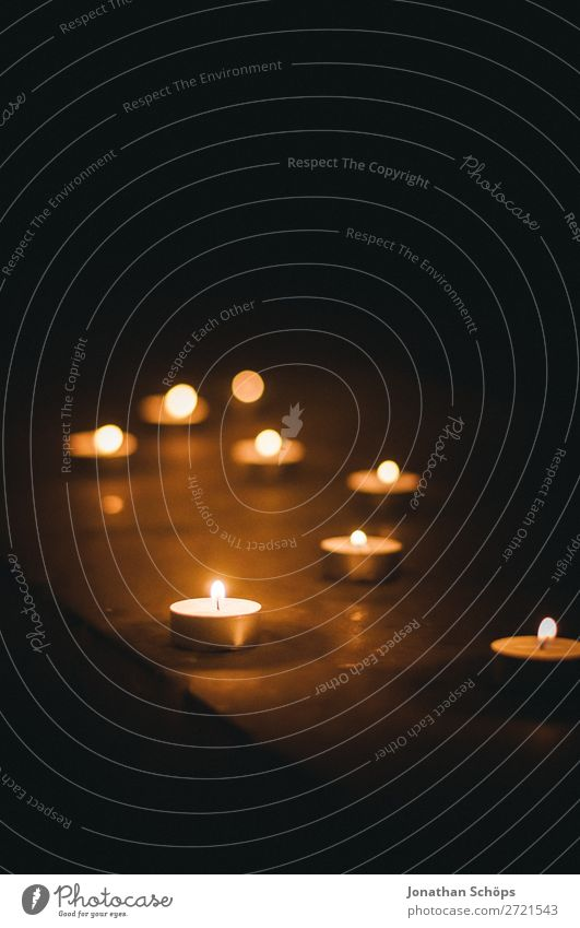 Calm Background picture Religion and faith Death Think Meditative Esthetic Candle Hope Grief Trust Society Christianity Prayer Church service Candlelight