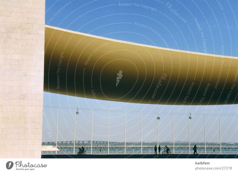 House (Residential Structure) Architecture Future Round Portugal Lisbon World exposition