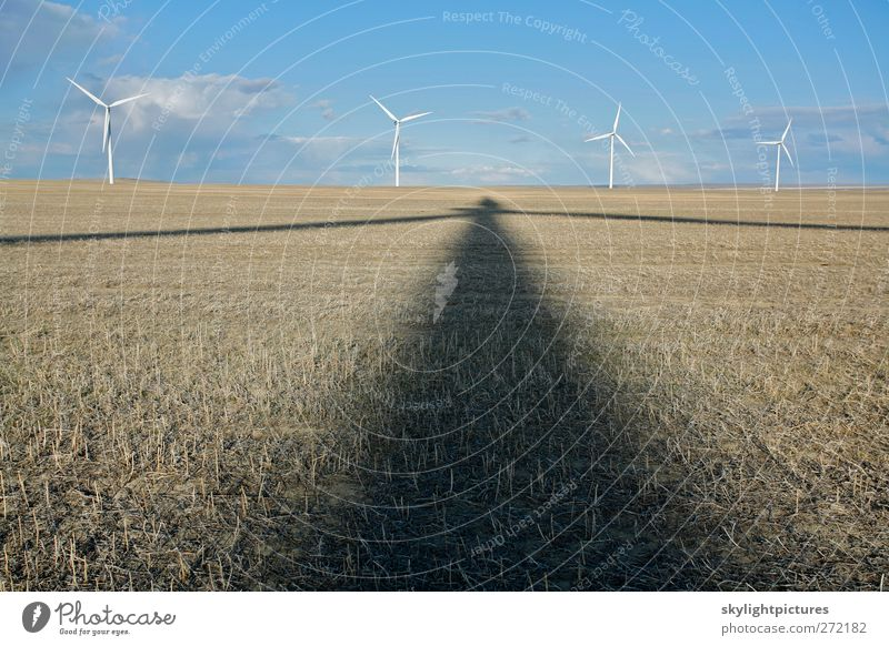 Shadow Power Green Environment Wind Energy industry Energy Industry Farm Wind energy plant Ecological Sustainability Electric Alternative Windmill Renewable energy Energy crisis