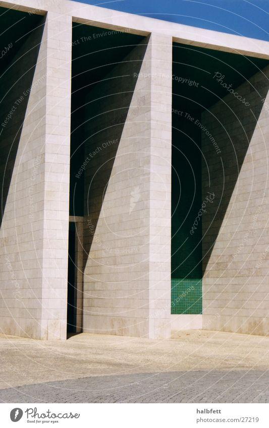 lisbon_06 Lisbon Trade fair Architecture Shadow Stone Monument World exposition